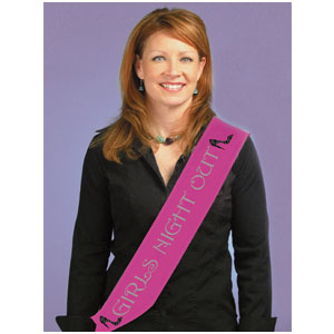 Girls Night Out Sash