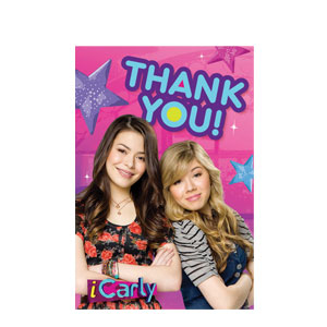 iCarly Thank You Cards- 8ct
