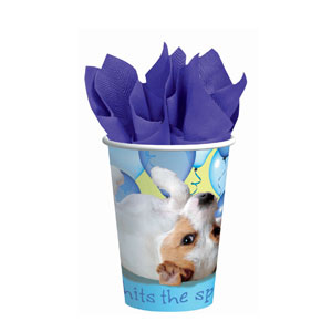 Party Pups 9 oz. Cups- 8ct