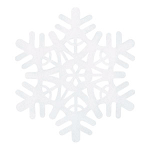 Large Snowflake - 18 Inch