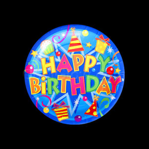 Birthday Fun 7 Inch Plates