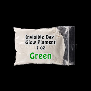 Glominex™ Invisible Day Glow Pigment 1 oz - Green