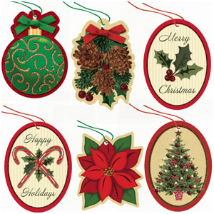 Traditions Tape-on Tags- 36ct