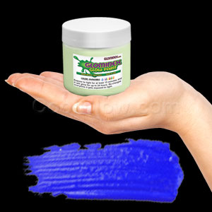 Glominex Glow Paint 8 oz Jar - Invisible Day Blue