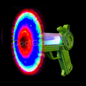 Fun Central AI623 LED Light Up Windmill Blaster Gun