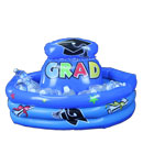 Graduation 3-Ring Inflatable Cooler