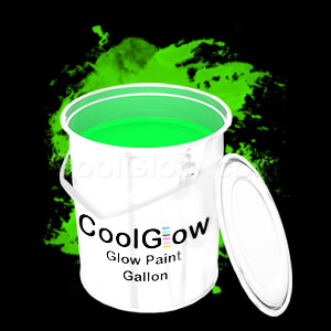 Glow Body Paint Gallon Green