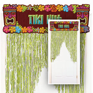 Tiki Hut Door Curtain- 4ft