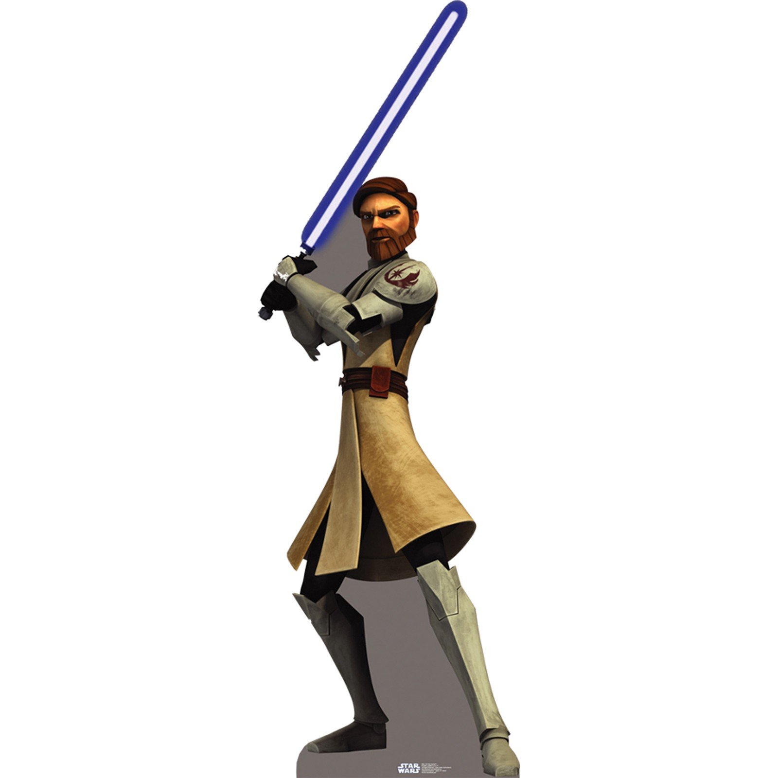 Star Wars The Clone Wars Obi Wan Kenobi Standup