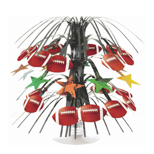 Championship Football Mini Cascade Centerpiece- 8in