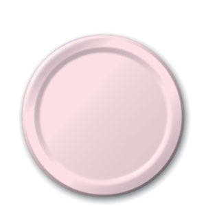 Baby Pink 7 Inch Plates