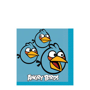 Angry Birds Beverage Napkins- 16ct