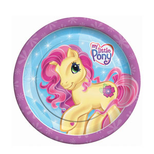My Little Pony 9 Inch Plates- 8ct