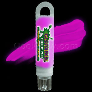Glominex™ Blacklight UV Reactive Paint 1 oz Tube - Pink