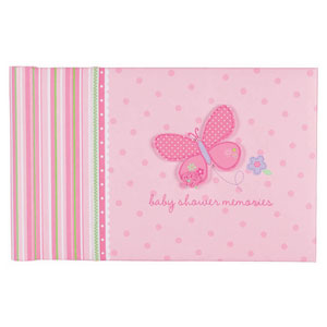 Baby Shower Memory Book - Girl