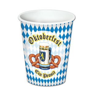 Oktoberfest Beverage Cups - 8ct