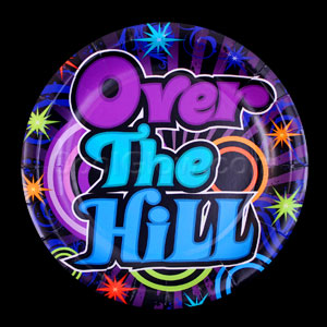 Over the Hill 9 Inch Plates