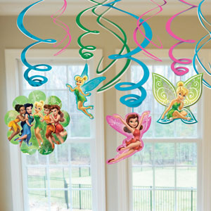 Disney Tinkerbell Swirls- 12ct