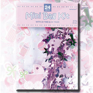 Mini Cello Bags - Pink