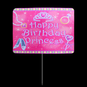Party Yard Sign - Princess
