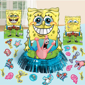 SpongeBob Table Decorating Kit- 27pc