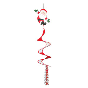 Santa Claus Wind-Spinner - 3.5ft