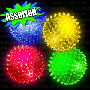 LED Spiky Massage Ball - Jumbo