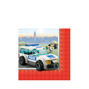 Lego Beverage Napkins- 16ct