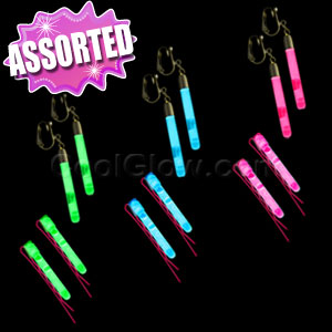 Glow Hair Pins and Earrings Set - Assorted