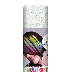 Glitter Color Hair Spray- Multicolor