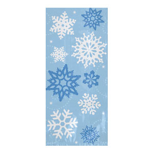 Snowflake Party Bag- Large 20ct