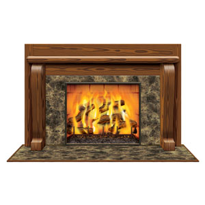Fireplace Insta-View - 3x5ft