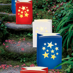 Patriotic Luminary Bags- 24ct