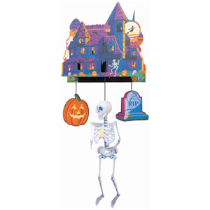 3-D Spook Mobile Hanging Decor- 24in
