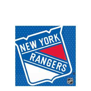 New York Rangers Luncheon Napkins- 16ct
