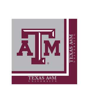 Aggies Luncheon Napkins