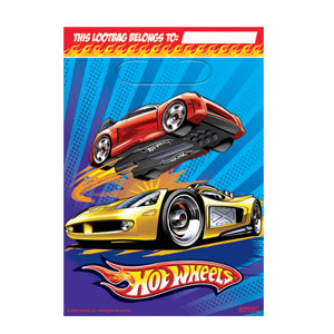 Hot Wheels Loot Bags- 8ct