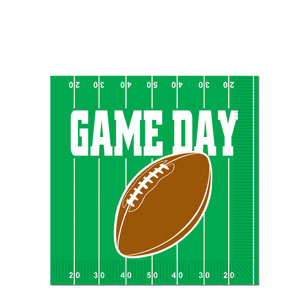 Game Day Luncheon Napkins- 16ct