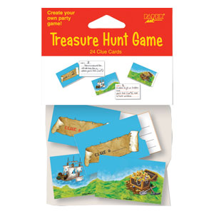 Pirate Treasure Hunt Game- 24ct