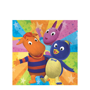 Backyardigans Luncheon Napkins- 16ct