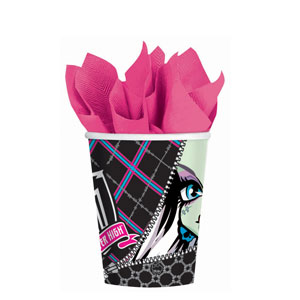 Monster High 9 oz. Cups