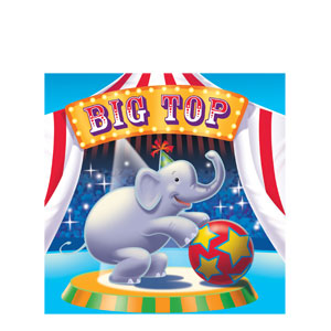 Big Top Luncheon Napkins