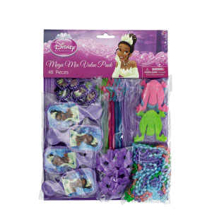 Disney Princess and The Frog Favor Pack- 48pc