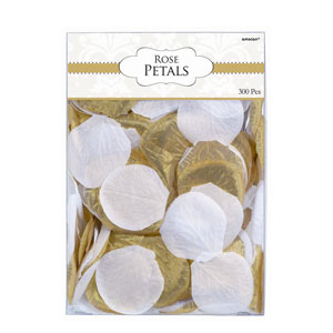 Gold Fabric Confetti Petals- 300ct