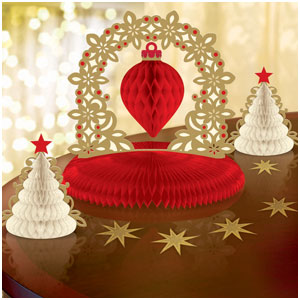 Holiday Table Decorating Kit- 15pc