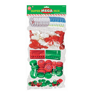 Christmas Party Favor Super Mega Mix- 100ct