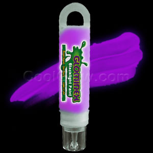 Glominex™ Blacklight UV Reactive Paint 1 oz Tube - Purple