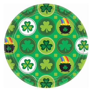 Pot of Gold Dinner Plate-9 inches