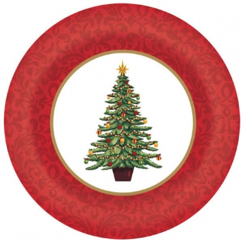 Classic Tree Large Plate