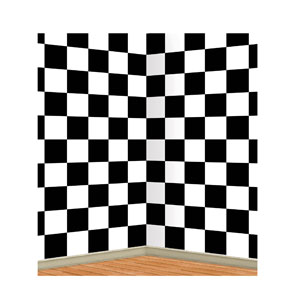 Checkered Backdrop - 30ft